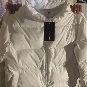 Jackets & Blazers - White Fashion nova Bubble coat